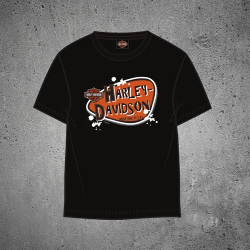 7d371f82bf0 Harley-Davidson® Heavy Duty Performance Black Short Sleeve T-Shirt ...